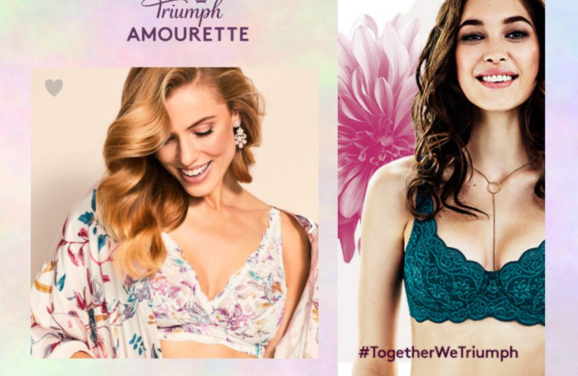 FLOWER POWER – NEW AMOURETTE COLLECTION BY TRIUMPH